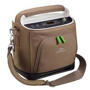 Concentrador de Oxigeno Portatil Simplygo Philips MGM Productos Médicos