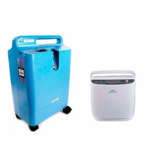 Pack Concentrador de Oxigeno EverFlo + SimplyGo Philips Respironics /Precio Internet MGM Productos Médicos