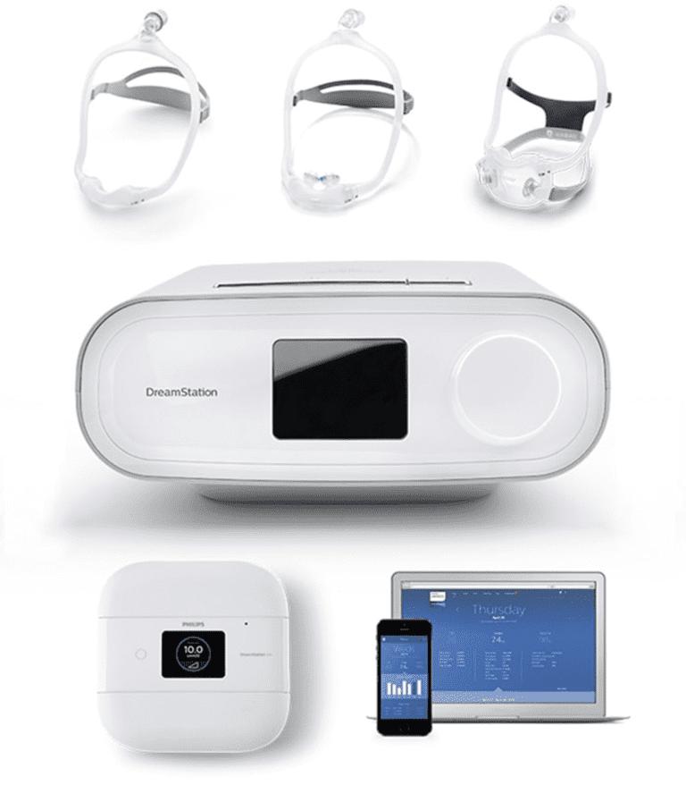 Dream Station Philips Respironics MGM Productos Médicos